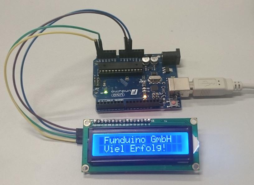Arduino Ultraschall Entfernungsmesser Lcd : Arduino anleitung für anfänger und fortgeschrittene u2013