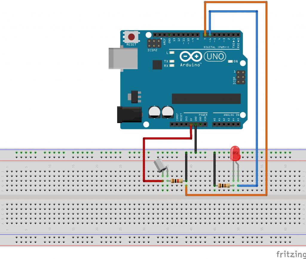 arduino-neigungssensor-aufbau-skizze