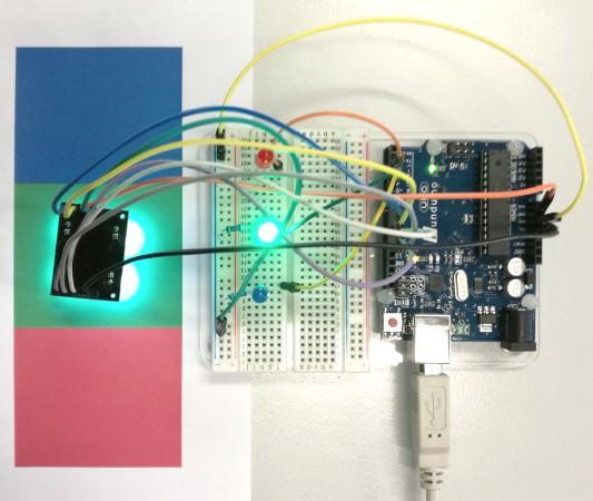 farbsensor-arduino-test-gruen